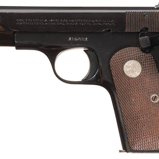 U.S. Colt 1908, Factory Documented Air Force General's Sidearm