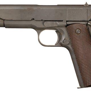 Excellent Remington-Rand Model 1911A1 Pistol, S/N 3