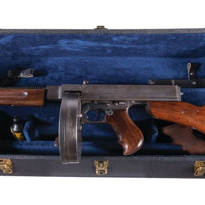 U S  Savage Model 1928A1 Thompson SMG, NFA Full