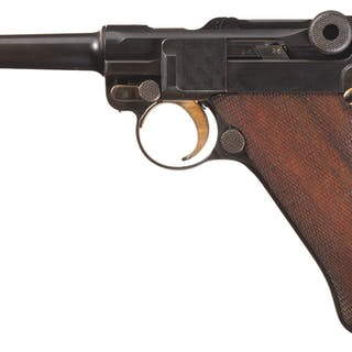 Early Production DWM Model 1908 Military Luge