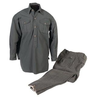 Fine Heer Enlisted Uniform Set, with Cap, Shirt and Trousers