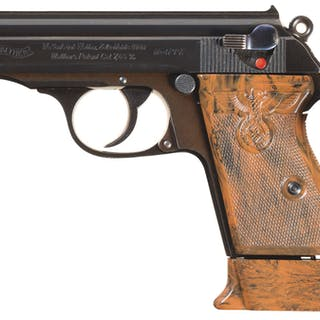 Nazi Walther PPK Party Leader Semi-Automatic Pistol