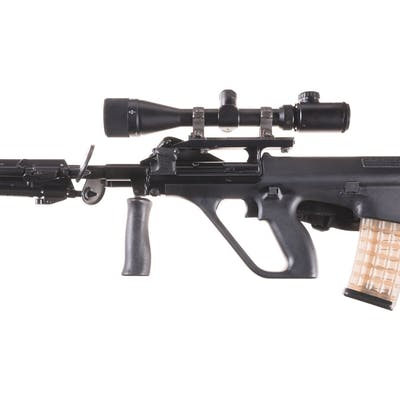 Steyr AUG/SA Heavy Barrel Rifle with Scope