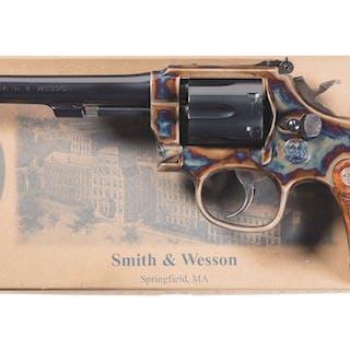 Smith & Wesson Ed McGivern Edition Model 15-9 Revolver