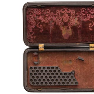 Smith & Wesson Gutta Percha Case for a No. 1 Revolver