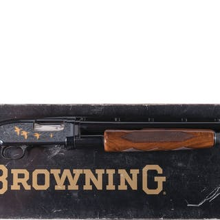 Browning Grade V Model 12 Slide Action Shotgun