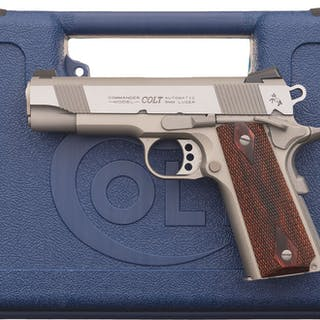 Pre-Production Colt Lightweight Commander Semi-Automatic Pistol