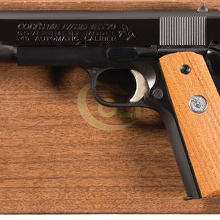 Colt Mk IV Series 70 Government Model Semi-Automatic Pistol