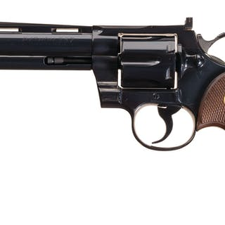 Early Production Colt Python Double Action Revolver