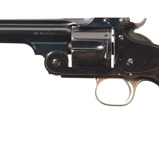 Smith & Wesson New Model No. 3 Target .38 WCF Revolver