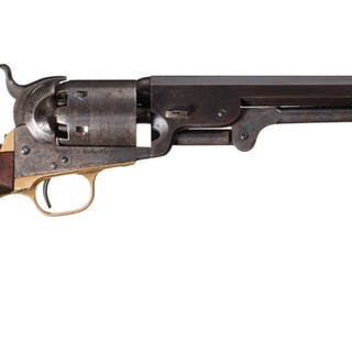 Very Fine U.S. Army Contract Colt Model 1851 Navy Revolver