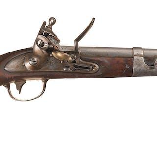 U.S. Army Contract Simeon North Model 1813 Flintlock Pistol