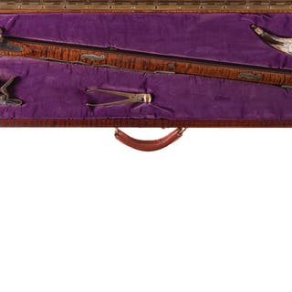 Louis Smith Contemporary American Long Rifle with Case
