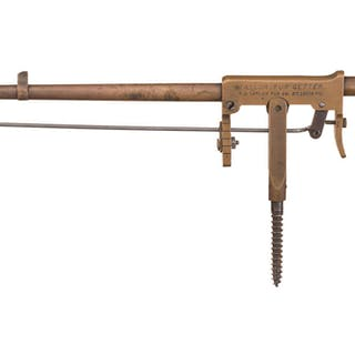 Desirable F.C. Taylor Fur Getter Single Shot Trap Gun