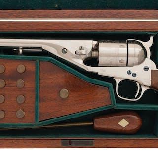 Cased Colt Richards-Mason Conversion Model 1861 Navy Revolver
