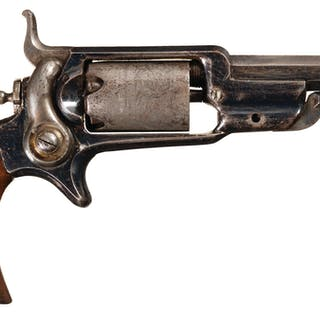 Colt Model 1855 Root Pocket Revolver with Holster Rig and Knife