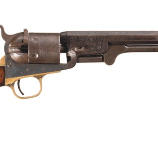 Unusual Colt Model 1851 Navy Conversion Revolver