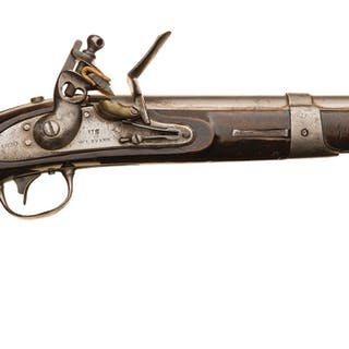 W.L. Evans U.S. Navy Model 1826 Flintlock Pistol