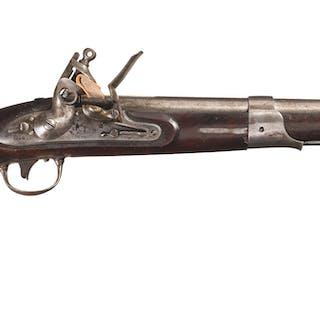 Simeon North U.S. Model 1819 Flintlock Pistol Dated 1821