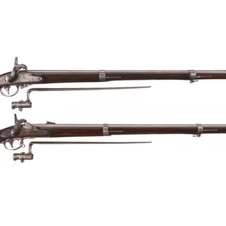 Two U.S. Springfield Percussion Conversion Muskets
