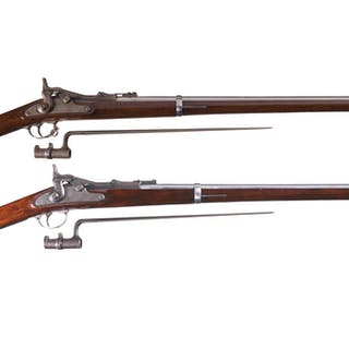 Collector's Lot of Two U.S. Springfield Trapdoor Rifles