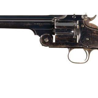 Only Known S&W New Model No. 3 Target Long Strap 38-40 Revolver