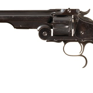 Russian Military Contract Smith & Wesson No. 3 Russian 3rd Model