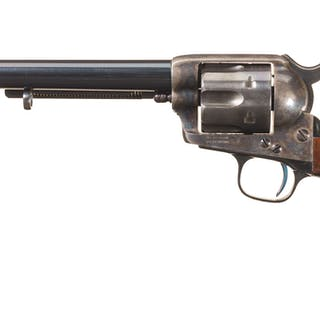 Casey Inspected U.S. Colt Single Action Cavalry Model Revolver