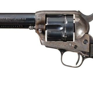 Colt First Generation Single Action Army Revolver, Letter