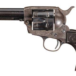 Texas Shipped 1st Gen. Colt Single Action Army Revolver, Letter