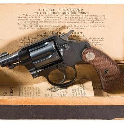 Colt 1st Issue Detective Special Revolver with Box
