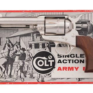 Colt Second Generation Single Action Army Revolver, Box