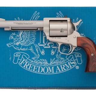 Freedom Arms Model 83 Premier Grade Single Action Revolver