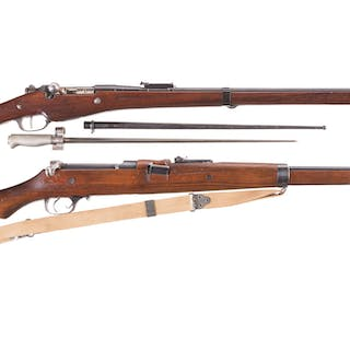 Two Military Bolt Action Rifles