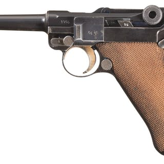 """Mauser """"G"""" Date """"S/42"""" Code Luger"""
