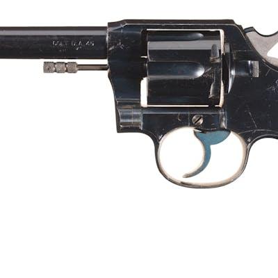 Documented U.S.N. Colt Model 1909 Revolver w/Holster