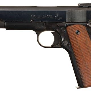 U.S. Ithaca Gun Co. Model 1911A1 .38 AMU Upgraded Pistol
