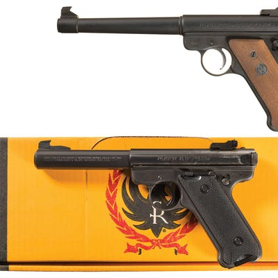 Two Ruger Semi-Automatic Pistols