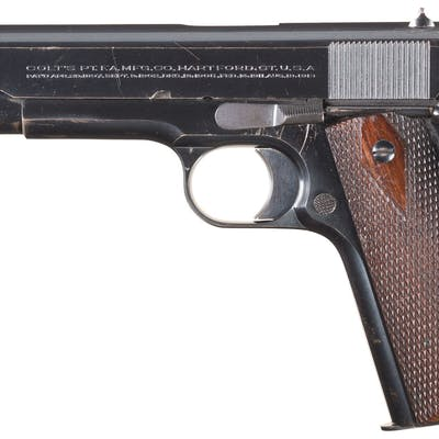 Colt Government Model Pistol with Letter