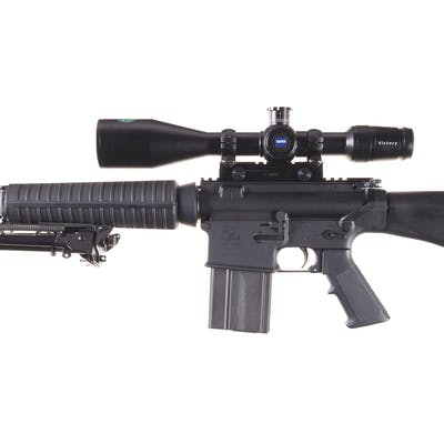 Armalite AR10-A4 Semi-Automatic Rifle with Zeiss Scope