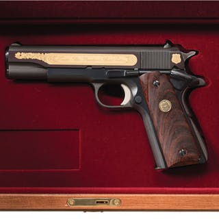 Colt Mk IV Series 70 Government Model Houston Police Pistol