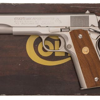 Colt MK IV Series 70 Government Model Pistol with Box