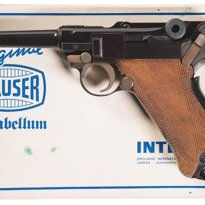 Mauser/Interarms Parabellum American Eagle Luger Pistol