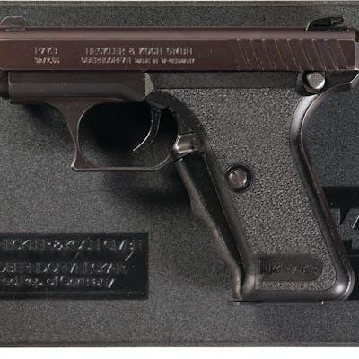 Heckler & Koch Model P7K3 Semi-Automatic Pistol with Box