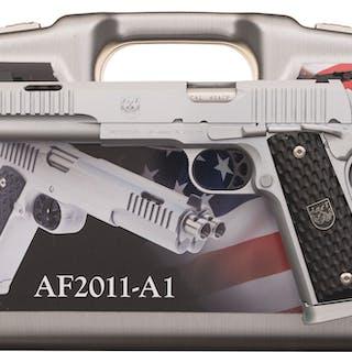 Arsenal Firearms AF2011-A1 Double Barrel Semi-Automatic Pistol