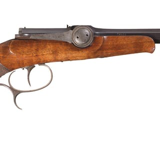 Rare Dreyse Needlefire Breech Loading Pistol