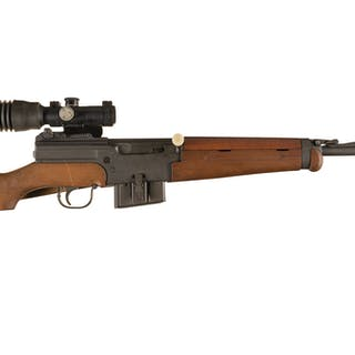 French MAS 49-56 Semi-Automatic Rifle with Scope and Accessories