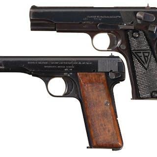 Two European Military Semi-Automatic Pistols