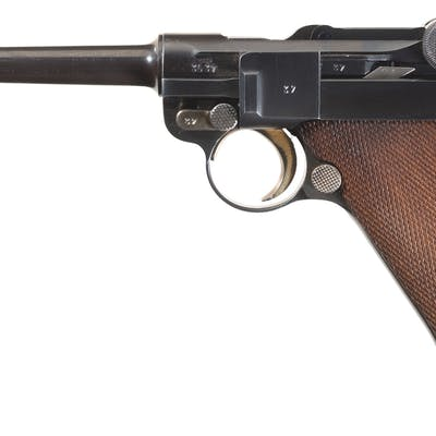 Mauser Banner Model 1906/34 Swiss Contract Luger