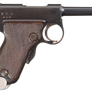 Early Tokyo Arsenal Baby Nambu Pistol